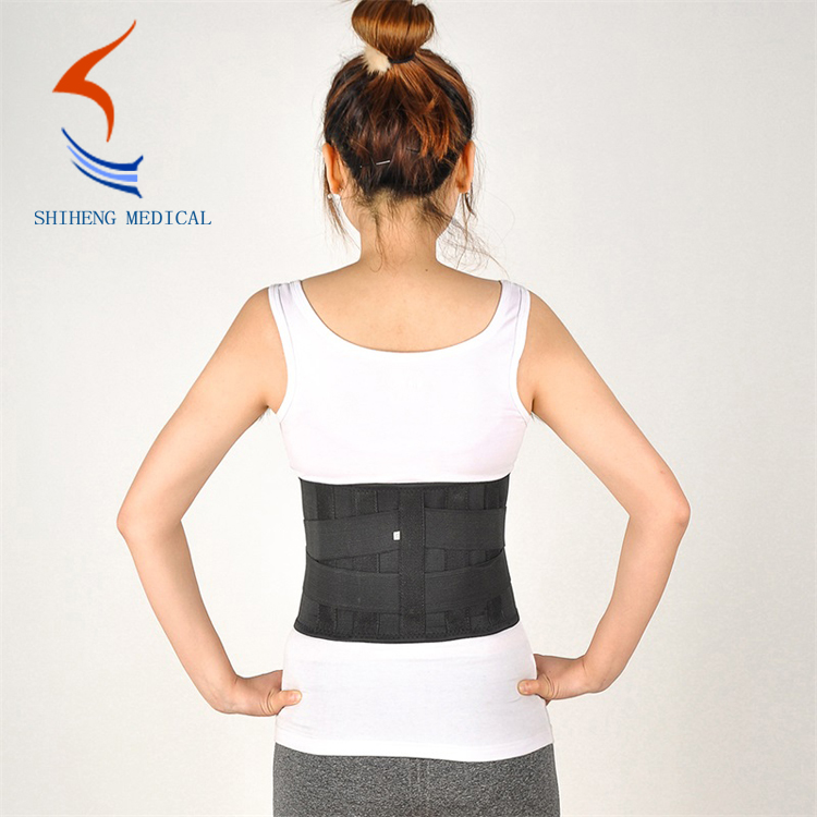 Breathable waist support belt
